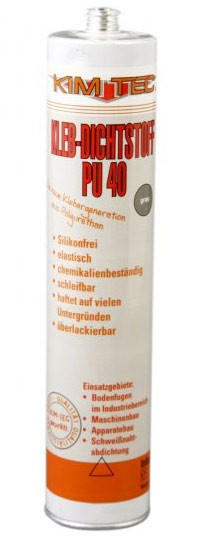 Polyuretanové lepidlo a tmel PU 40 KIM-TEC