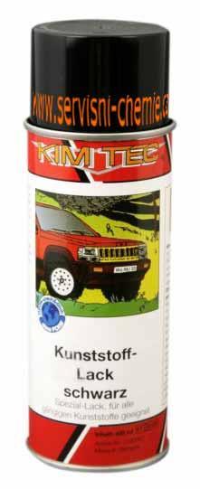 Lak na plasty - sprej 400ml KIM-TEC